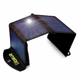 SUAOKI 25W Solar Charger Portable Universal Phone Charger wi