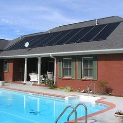 "28""x20' Solar Swimming Pool Heater Panel for Inground above"