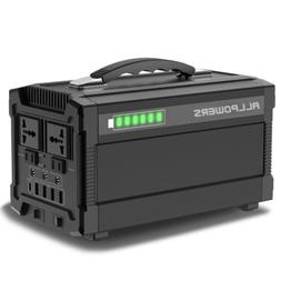 288Wh Portable Solar Panel Generator Power Supply Energy Sto