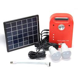 28Wh Portable Small Solar Panels Charging Generator Power Ge