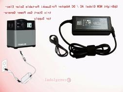 AC Adapter For Suaoki Portable 400Wh Solar Electric Start Ga