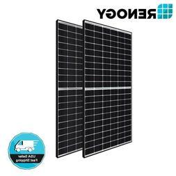 2PCS Renogy 320W 300W Mono Solar Panel 600W 24V 48V PV Power