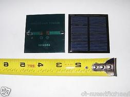 2V x 200 mA Mini Solar Panel encapsulated virtually indestru