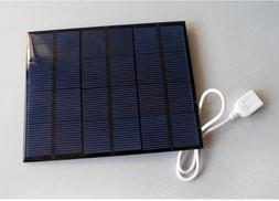 3.5w 6v Solar Panels Mini 2.0 USB Module System Kit Epoxy Ce