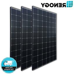 3 Pcs Renogy 270W Poly Solar Panel 800W Watt 24V 48V On/Off
