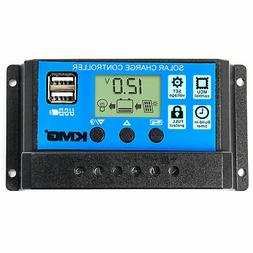 KMG 30 Amp PWM Smart Solar Charge Controller with LCD Displa