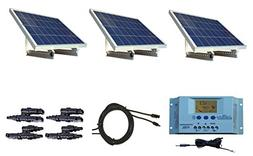 WindyNation 300 Watt 12V Solar Panel Kit w/ Adjustable Solar
