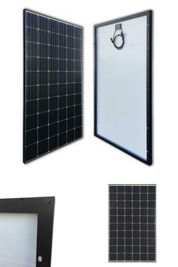 300-Watt 24-Volt Monocrystalline Solar Panel for RV Boat Bac