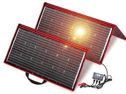 DOKIO 300 Watts 12 Volts Monocrystalline Foldable Solar Pane