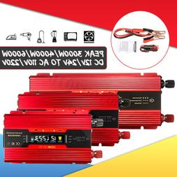 3000/4000/6000W Solar Power Inverter DC12/24V to AC110V/220V