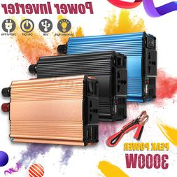 3000/4000W Solar Power Inverter DC12/24V To AC 220V Modified
