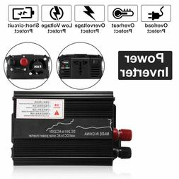 3000W Car Solar Power Inverter DC 12/24V To AC 110V Sine Wav