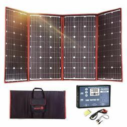 300W 12V Flexible Solar Panel Portable Outdoor Foldable