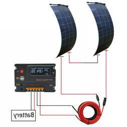 300W 150W Watt 12V Flexible Solar Panel System Semi Ultra-Li