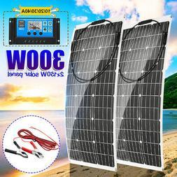 300W 18V Flexible Monocrystalline Solar Panel For Motorhome