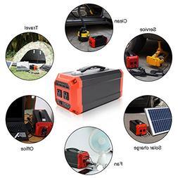 Beenaspiring 300W/73000mAh Portable Solar Generator Power Su