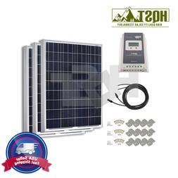 300W Solar Panel Starter Kit 30A MPPT Controller Off Grid Ba