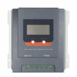 Hqst 30A 12/24V Auto Mppt Solar Charge Controller, Negative