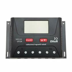 30A Amp PWM Solar Panel Charge Controller with LCD Display
