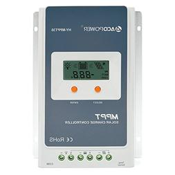 ACOPOWER 30A MPPT Solar Charge Controller 100V input HY-MPPT