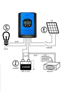 ALLPOWERS 30A MPPT Solar Charge Controller HY-MPPT30A+ Remot