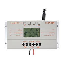 Y&H 30A MPPT Solar Charge Controller 12V/24V Solar Panel Bat