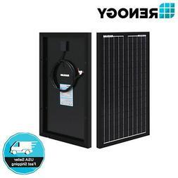 Renogy 30W Watt Mono Solar Panel 12V Volt Panels Off Grid Po