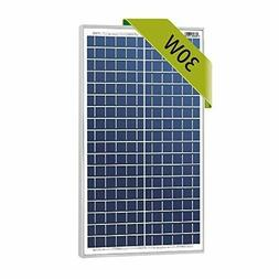 Newpowa 30w Watts 12v Poly Solar Panel Module For Rv Marine