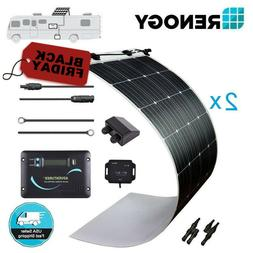 Renogy 320 Watt 12 Volt Flexible Solar Panel Kit 300W 12V Va