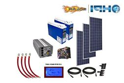 3360 Watt Solar Panel System - Complete Kit for DIY