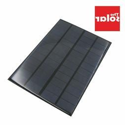350mAh Solar Panel 12 V 4.2 W Standard Epoxy Polycrystalline