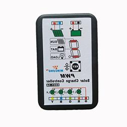 Abovehill 3A Solar Charge Controller Solar Panel Battery Int