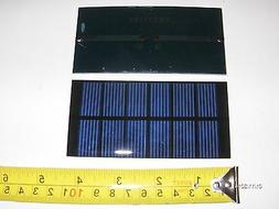 3V x 240 ma. Mini Solar Panel   epoxy encapsulated virtually