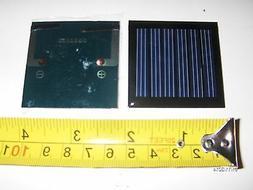 3V x 70 mA. Mini Solar Panel   epoxy encapsulated virtually