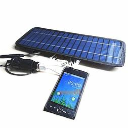 4.5W/12Volt Smart Power Solar Panel Battery Charger for Car