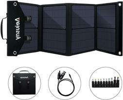 4 Panel Foldable 60W Portable Solar Charger for Suaoki/Jacke