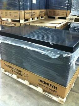 HYUNDAI 290 WATT MONO ALL BLACK SOLAR PANELS