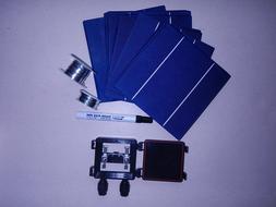 40  6x6 high efficient solar cell kit-diy solar panels,jbx,f