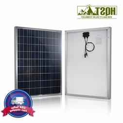 10W 30W 100W 12V Solar Panel 12 Volt PV Power Off Grid Motor