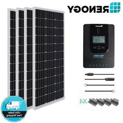 Renogy 400W 400 Watt Solar Panel Starter Kit MPPT Battery Ch