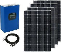 400W Solar Panel Kit - 4x100W Mono Solar Panels + 40A MPPT C
