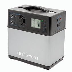 ECO-WORTHY 400Wh Portable Solar Generator Lithium ion Power