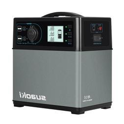 Suaoki 400Wh Portable Solar Generator Power Supply Inverter