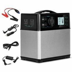 400Wh Portable Solar Power Generator Supply Energy Storage 4