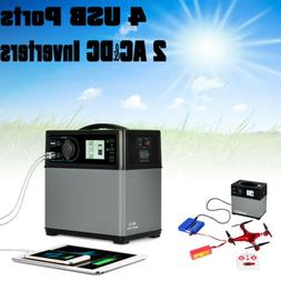 400Wh Solar Electric Generator Power Supply Car Jump Starter