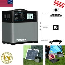 400Wh Solar Generator Power Supply Charger Station Energy St