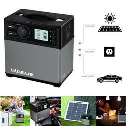 Suaoki 400Wh Solar Power Generator Inverter Supply Energy St