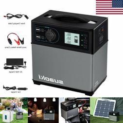 Suaoki 400Wh Solar Power Inverter Generator Supply Energy St