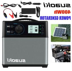 Suaoki 400Wh Solar Power Inverter Generator Supply Power Inv