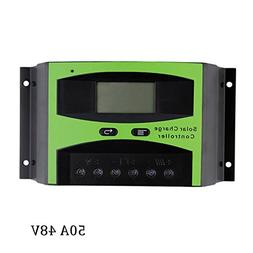 DPJ 40A 50A 60A 48V LCD Solar cell Panel Charger Regulator B